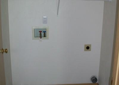 Utility w/d hookups